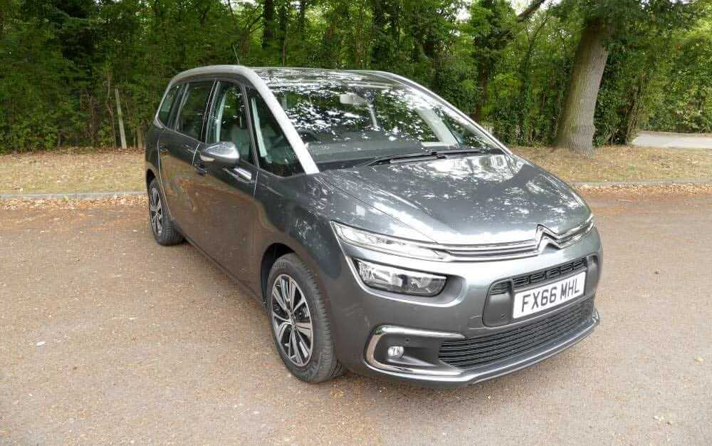 Hire a C4 Grand Picasso at Lanes Car Hire